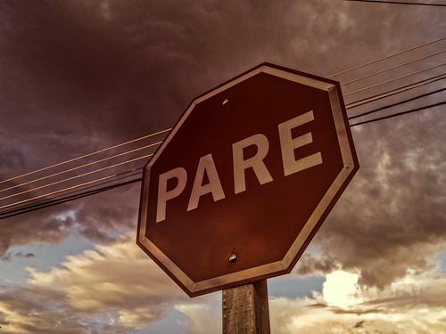 sunset brazil urban brasil clouds nokia pôrdosol stop microsoft urbano alert pare 930 alerta lumia sinalização