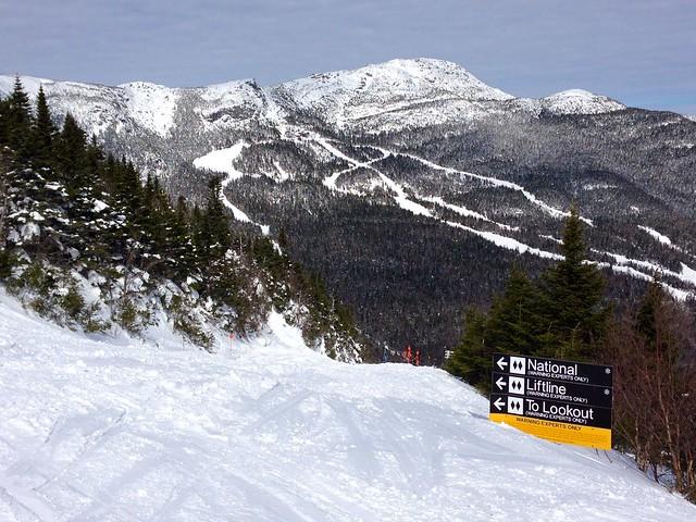 Stowe under snow