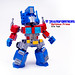 LEGO Optimus Prime by The real Eric Tsai
