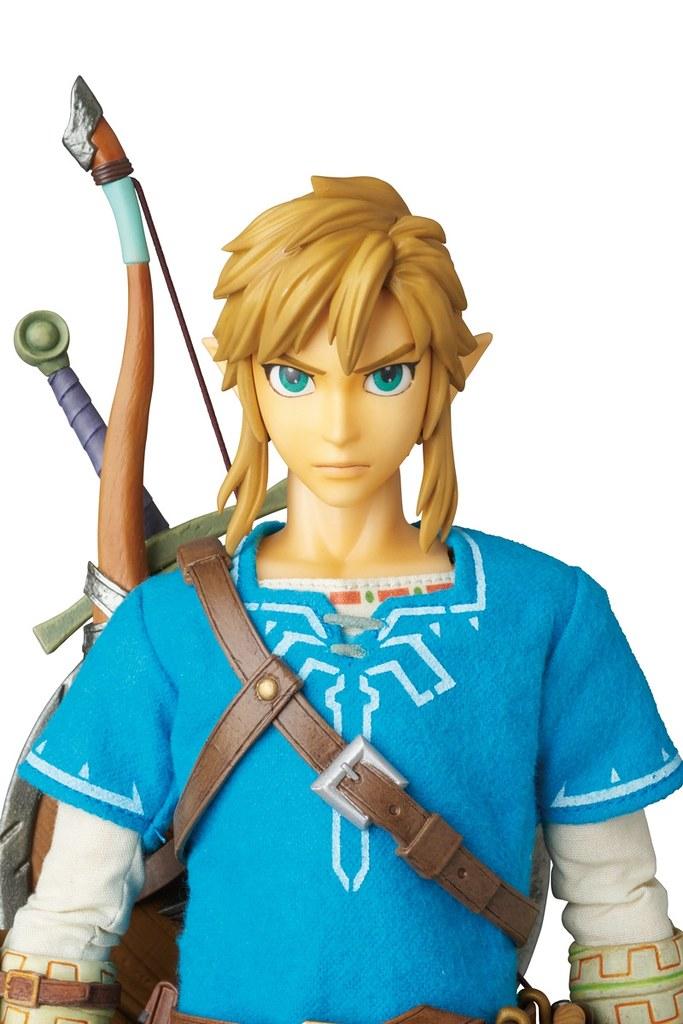 MEDICOM TOY 薩爾達傳說:荒野之息【林克】The Legend of Zelda: Link 1/6 比例人偶作品
