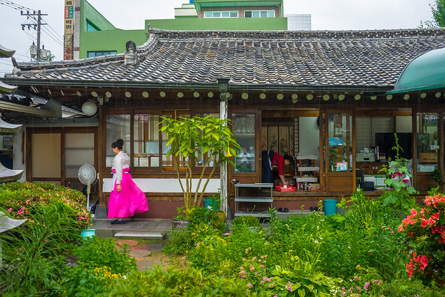 Old hanok, Suncheon, South Korea