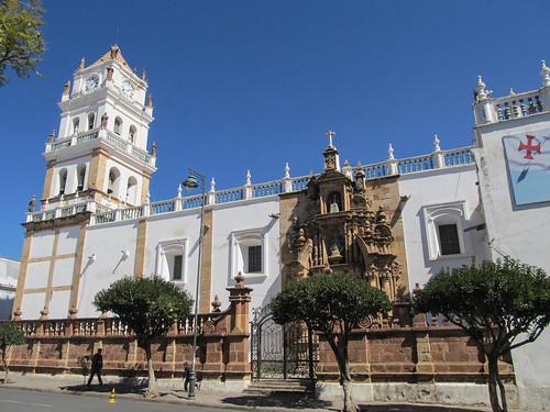 Sucre: la Plaza 25 de Mayo et sa cathédrale