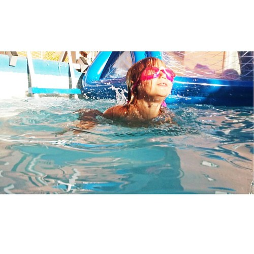 Mi #sirenita #littlemermaid #swimming #kidsingram