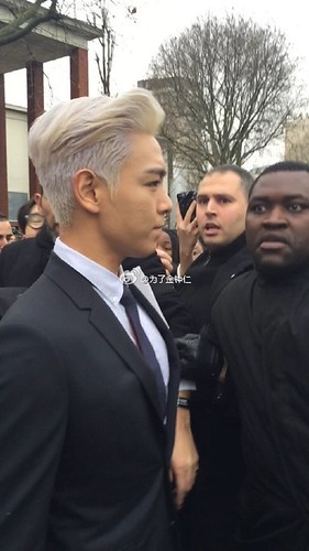 TOP - Dior Homme Fashion Show - 23jan2016 - 为了金钟仁 - 01