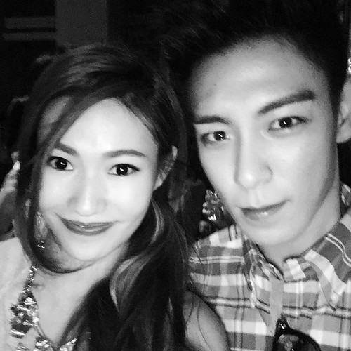 Kimmy Lai with TOP MAMA 2015 aftershow party