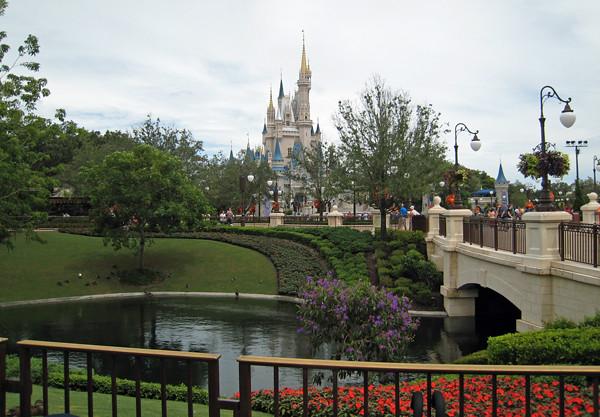 寧々さんinフロリダ ディズニーワールド マジックキングダム その2