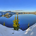 Crater Lake by markwhitt