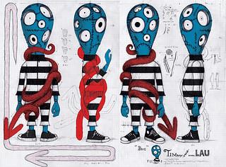 《提姆·波頓世界巡迴展》Michael Lau X Tim Burton 新作「FringeBacker募資網站」推出!