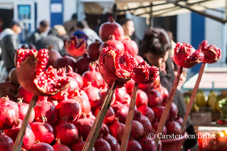 Pomegranate display