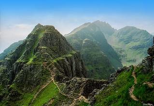 Liathach ridge, Glen Torridon