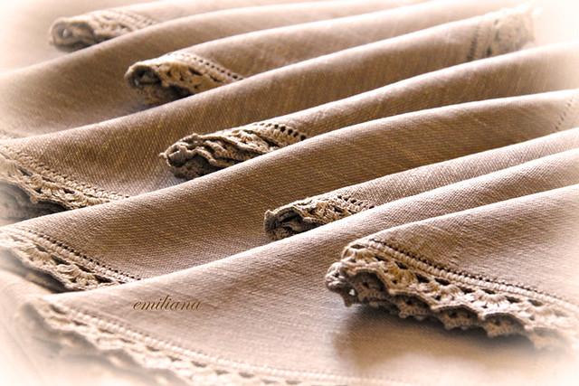 L 39 alternativa tovaglia con bordo crochet for Bordi uncinetto per tovaglie
