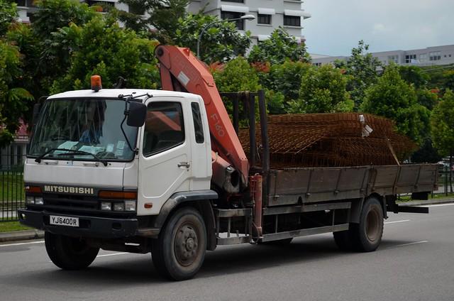 Mitsubishi Fuso Fighter FM657M Crane Truck