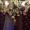 #crystals #chandelier #home #christmas #decoration #snowballs #Ganja #Azerbaijan #az #bright #NewYear #2014 #2015