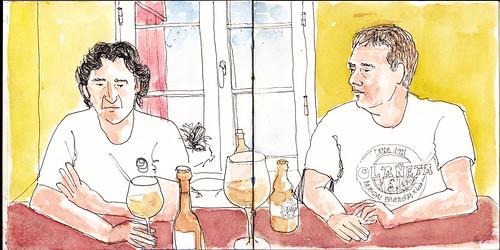 Pedro y Fernando en Aintziburia