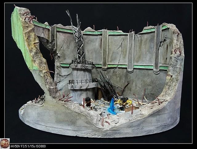 【玩具人'君魂'投稿】海賊王 魯夫vs路基 自製司法島激戰場景