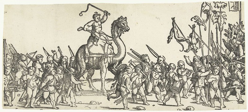 Monogrammist LIW - Children's Crusade (2) 1522 - 1532