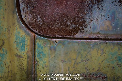 Rusted truck in Montana