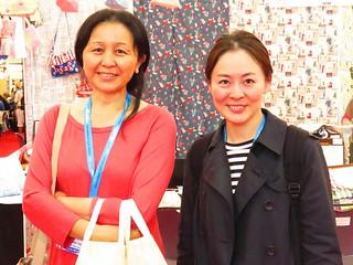 Keiko Clark and Minori Ikeda