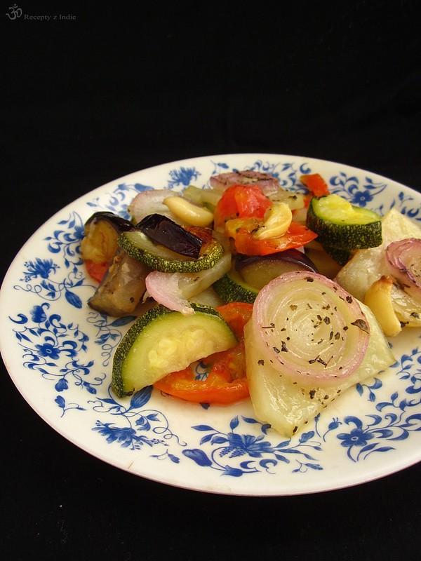 Briam pecena zelenina