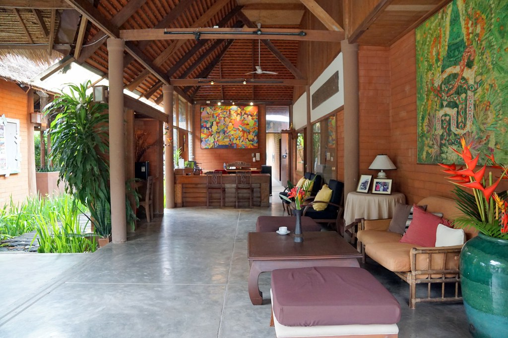 belle view resort pai - lobby and breakfast