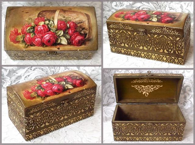 Decoupage box