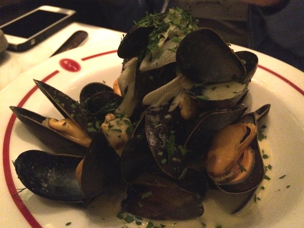 Plat du Jour - bouchon mussles