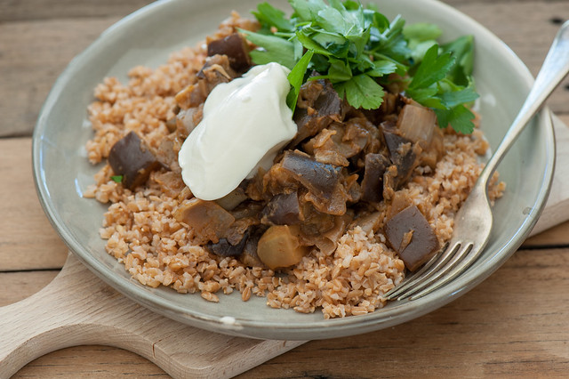 spiced eggplant with farro-3