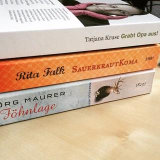 #gelesen im #Dezember. Immerhin pendelt es sich grad auf so drei #Bücher im Monat ein...