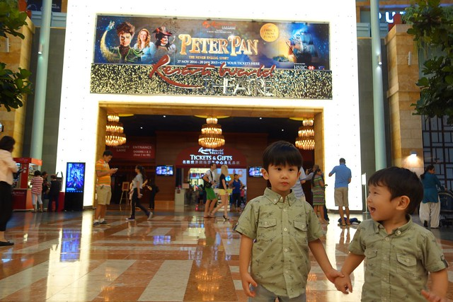Jerry & Jerome goes to RWS to watch Peter Pan Musical.