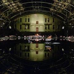 #DouglasGordon's reflecting pool @parkavearmory
