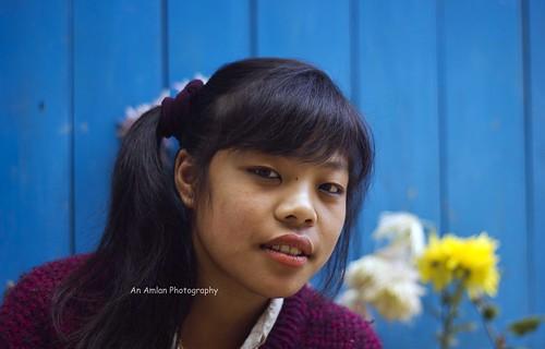 Srikhola girl