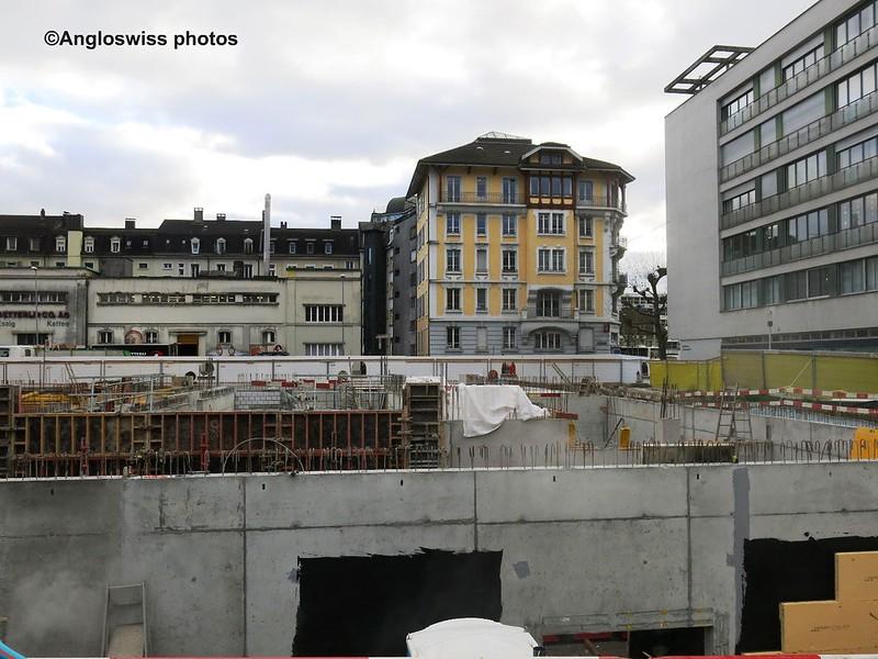 Building Site Berufschulhaus Vorstadt Solothurn
