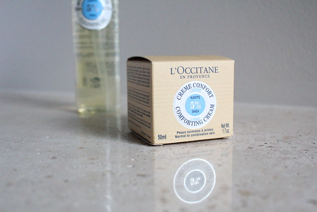 L'Occitane Shea Butter Light Comforting Cream review