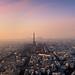 Sunset @ Paris by A.G. Photographe