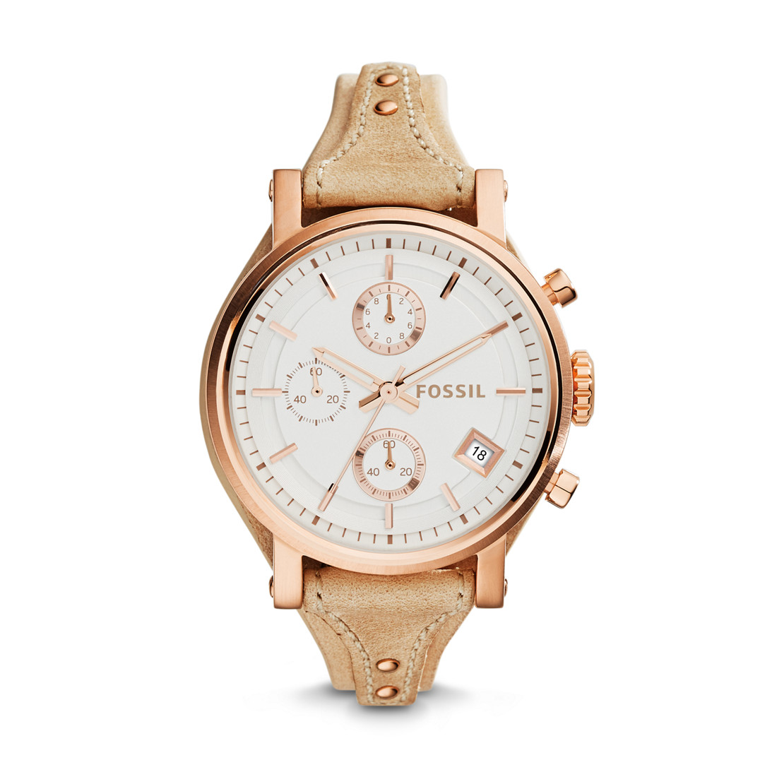 Original Fossil Watches By Geniehour Jam Set Womens Es3748 Leather Watch Rm55000