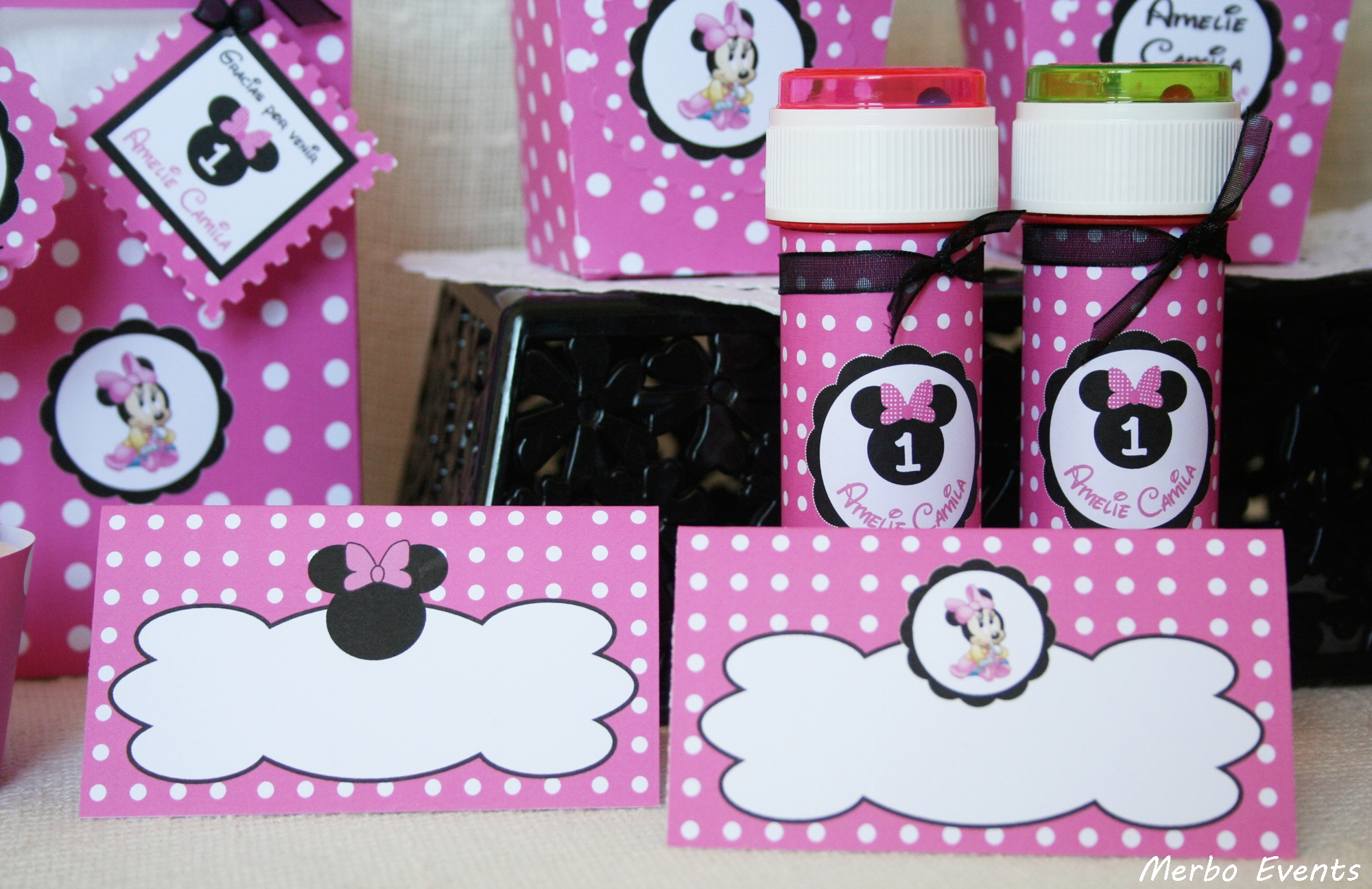 Merbo events cumplea os minnie mouse beb - Decoracion cumpleanos bebe ...