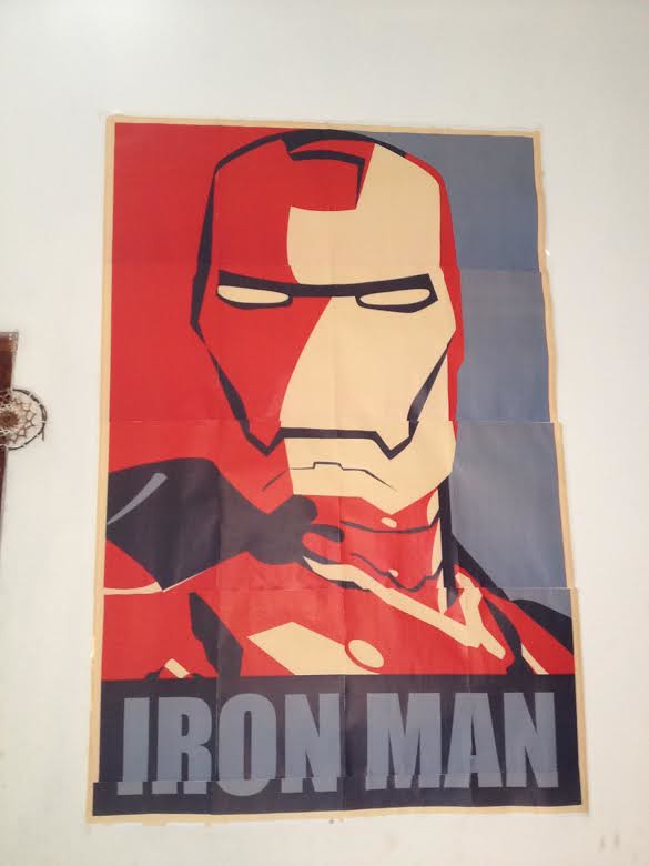 Iron Man Yes We Can Poster Art Print