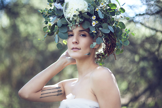 Jihan Floral Headpiece