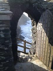Entranceway to Tintagel Castle
