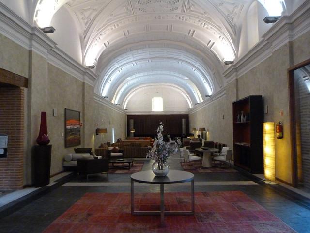 Nave central de la antigua iglesia Sancti Spiritus de Olmedo (Valladolid)