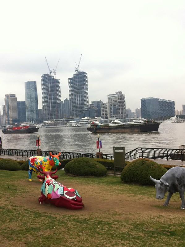 Le long du  Huangpu