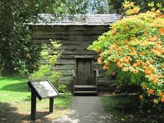 An Appalachian House at Mabry Mill