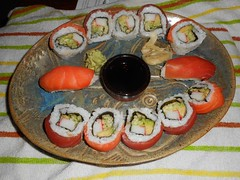 gimbap(0.0), bento(0.0), meal(1.0), lunch(1.0), california roll(1.0), japanese cuisine(1.0), food(1.0), dish(1.0), cuisine(1.0), asian food(1.0),