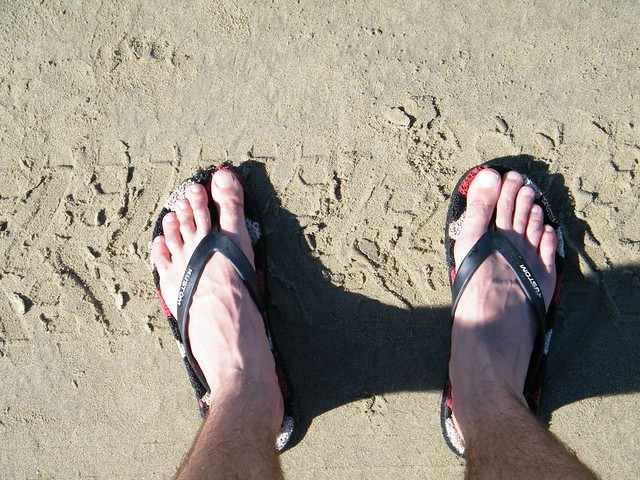 Tires Feet Douglas Beach