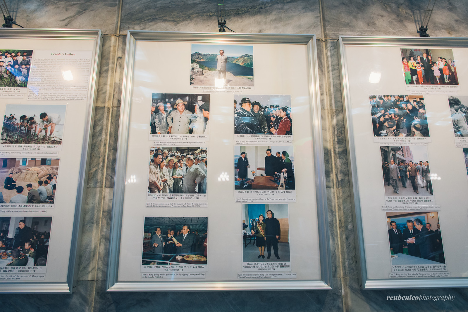 Kim Il Sung and his contributions
