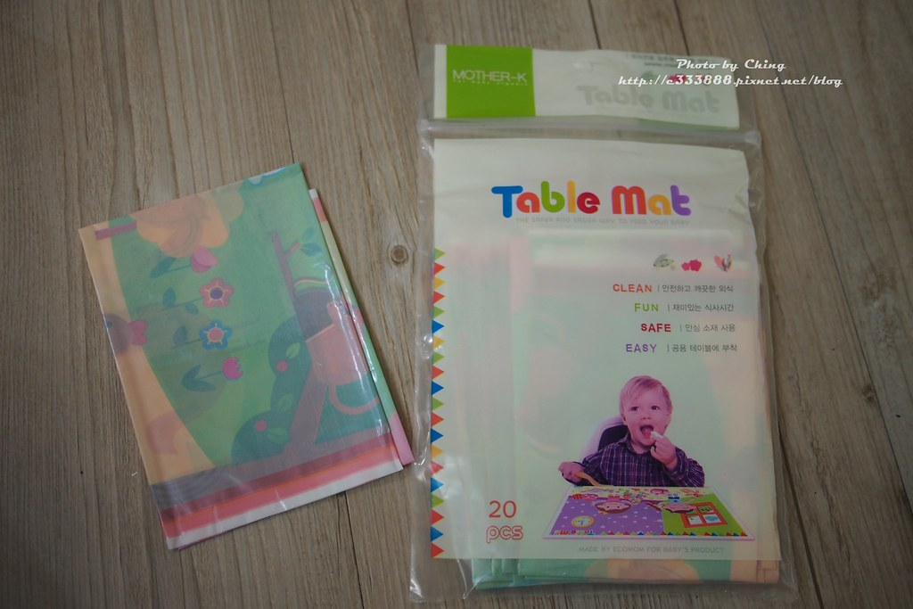 MOTHER-K-寶寶用品專區-寶寶抗菌拋棄式餐桌墊-1
