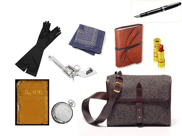 Shelley Bag Contents