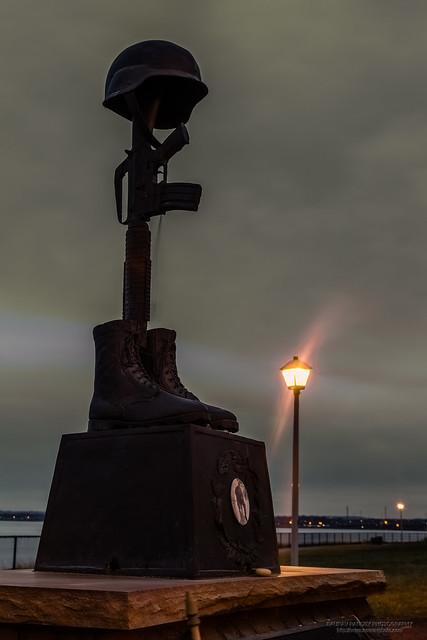 Sergeant First Class Benjamin L Sebban memorial