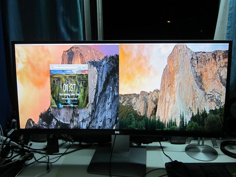 Dell UltraSharp 34 Curved Monitor (U3415W) - PbP Full