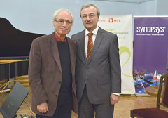 with Tigran Mansurian: a leading Armenian composer of classical music and film scores, 2014